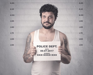 Caught offender.