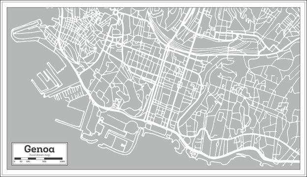 Genoa Map Photos Royalty Free Images Graphics Vectors Videos Adobe Stock