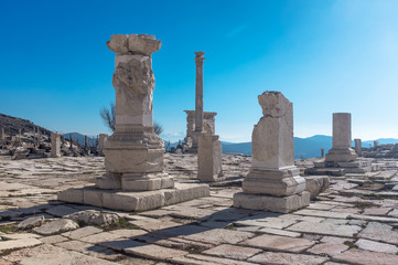 The ancient city of Sagalassos