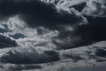曇天 暗雲