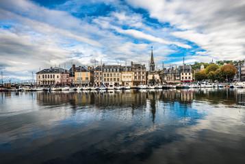 Old port of Honfleur, Normandy, France Fototapete
