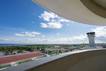 新石垣空港展望デッキからの風景