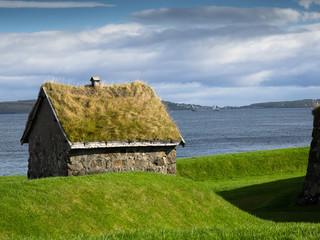 Torshavn-Färöer- Festung Skansin