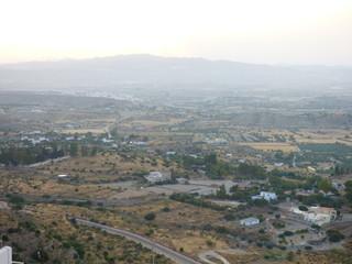 Mojácar, pueblo bonito de Almería, en la comunidad autónoma de Andalucía (España) Posiblemente el pueblo natal de Walt Disney