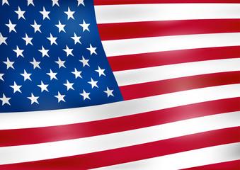 American flag, background