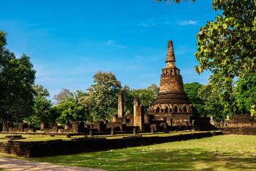 pagoda in Kamphaeng Phet Historical Park
