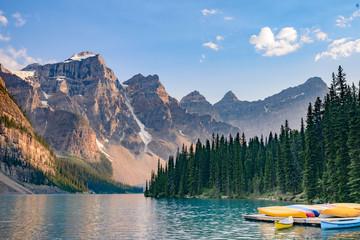 Lake  Moraine, Banff National Park, Alberta, Canada Wall mural
