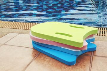 foam board for learning to swim