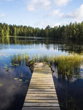 Jetty Broadwalk - Lusi, Finland
