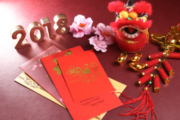Chinese New Year decorations for year 2018