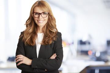 Executive professional businesswoman portrait