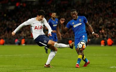 FA Cup Third Round - Tottenham Hotspur vs AFC Wimbledon