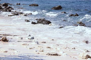 Beautiful hidden beach, no people