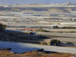 Los Baños de Guardias Viejas, localidad de El Ejido en la Provincia de Almería y la Comunidad autónoma de Andalucía (España)