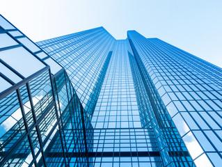 Wolkenkratzer in Frankfurt, Deutschland