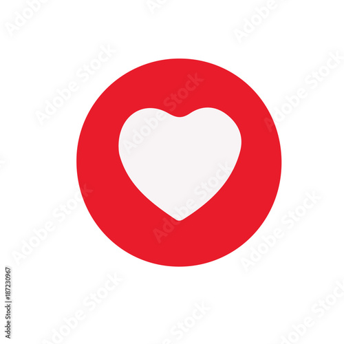 Facebook Heart Like Stock Image And Royalty Free Vector Files On
