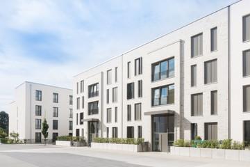 Neubaugebiet in Deutschland - Passivhäuser
