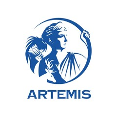 greek goddess Artemis illustration