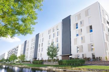 Wohnungsbau - Neubaugebiet in Deutschland