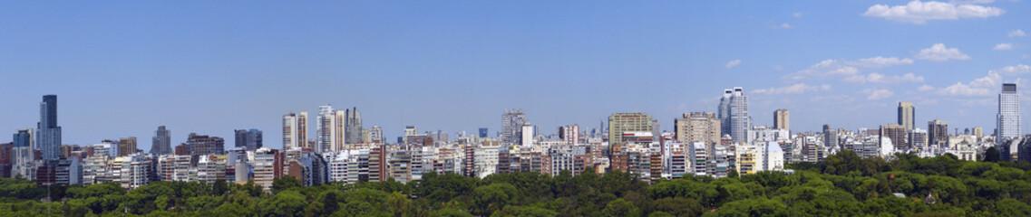 Panorama von Buenos Aires, Hauptstadt Argentiniens