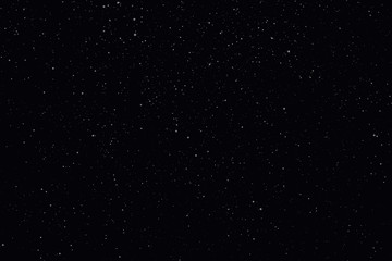 Night starry sky with stars and planets suitable as background