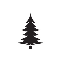pine-tree icon illustration