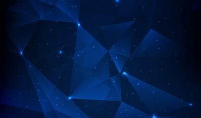 Modern polygonal background