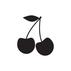 cherry icon. cherry sign