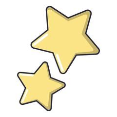 Stars icon, cartoon style