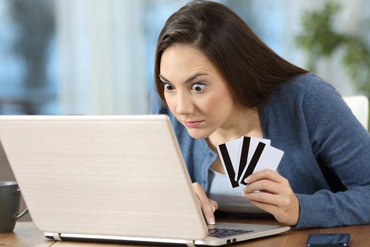 Compulsive on line shopper or gambler at home