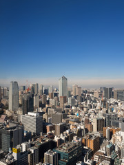 Fototapete - 東京港区の眺望
