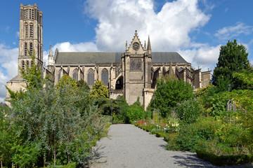 Limoges Cathedral in Limoges, France