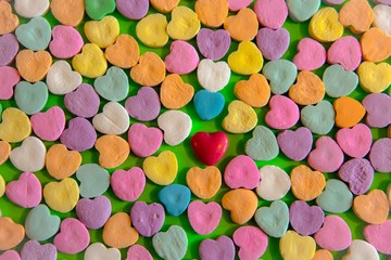 Colors of Valentines Day