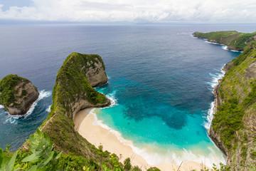 Kelingking Beach auf der Nusa Penida vor Bali