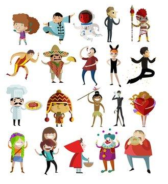 cute kawaii characters collection