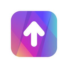 Multi-Color App Button
