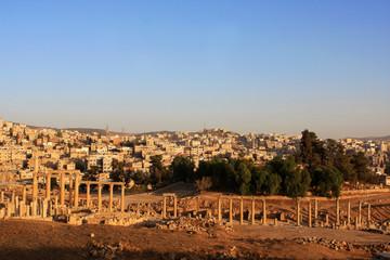 Ruins of the Roman city of Gerasa, Jerash, Jordan