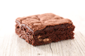 delicious chocolate brownie