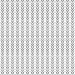Vector knitted texture. Seamless gray pattern.