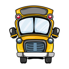 school bus transportation to education travel