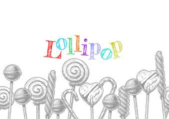 illustration of Lollipop