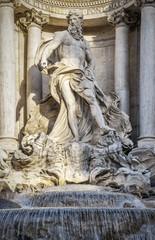Rome Trevi Fountain Statue