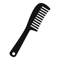 Comb icon, simple style