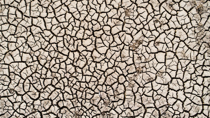 Abstract of a dried streambed. . . clear evidence of climate change