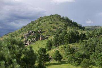 Felsige Berglandschaft in Nordmexiko