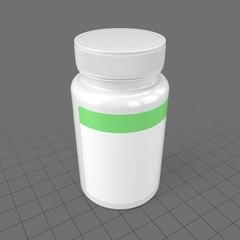 Generic pill bottle