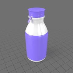 Plastic yogurt bottle 2