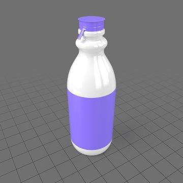 Plastic yogurt bottle 3