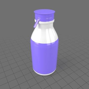 Plastic yogurt bottle 2