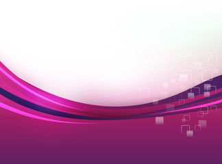 Abstract background purple and pink curve and layerd element vector illustration 004